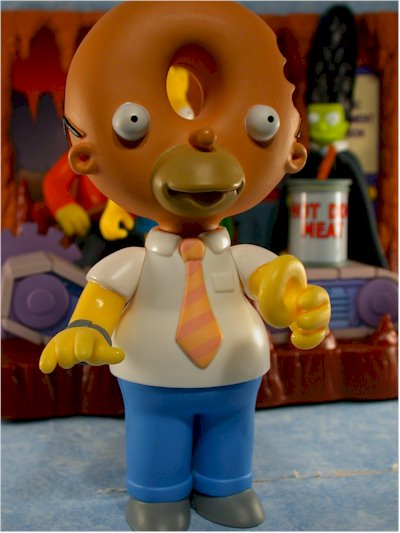 Treehouse of Horror Simpsons Donut Head Homer action figure
