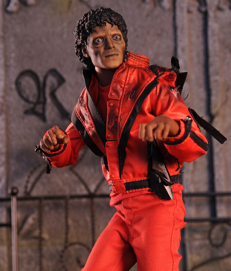 MichaelJackson Thriller sixth scale action figure