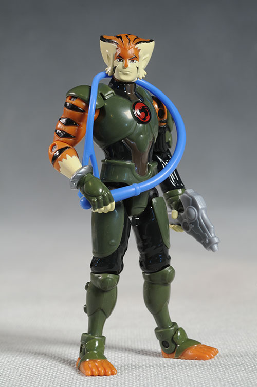 Thundercats Tygra action figure by Bandai