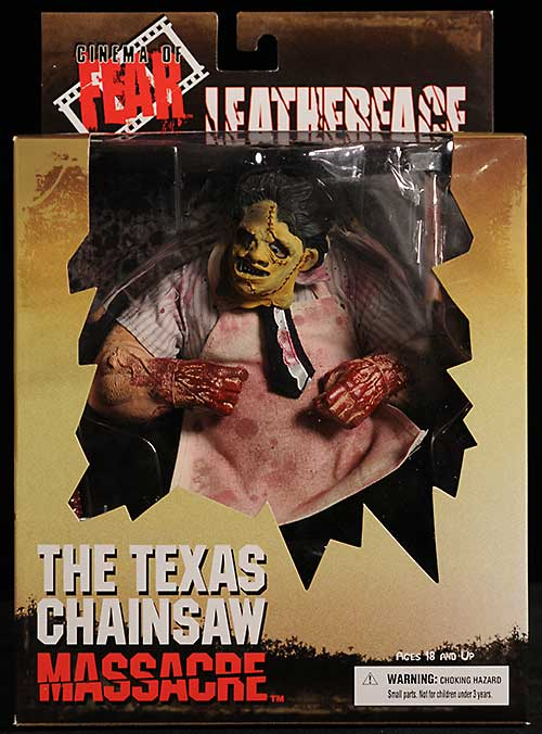 Texas Chainsaw Massacre Leatherface Cinema of Fear action figure by Mezco Toyz