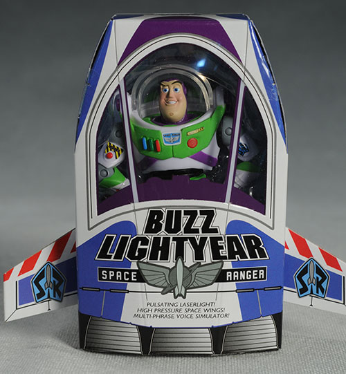 Buzz Lightyear SDCC exclusive Toy Story action figures by Mattel