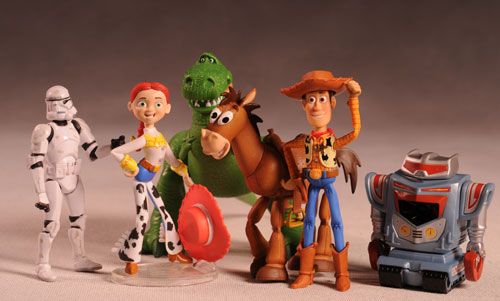 Disney/Pixar Collection Toy Story 3 action figures by Mattel