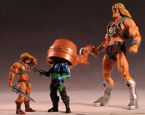 MOTUC Tytus action figure by Mattel