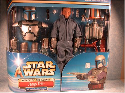 Ultimate Jango Fett action figure by Hasbro
