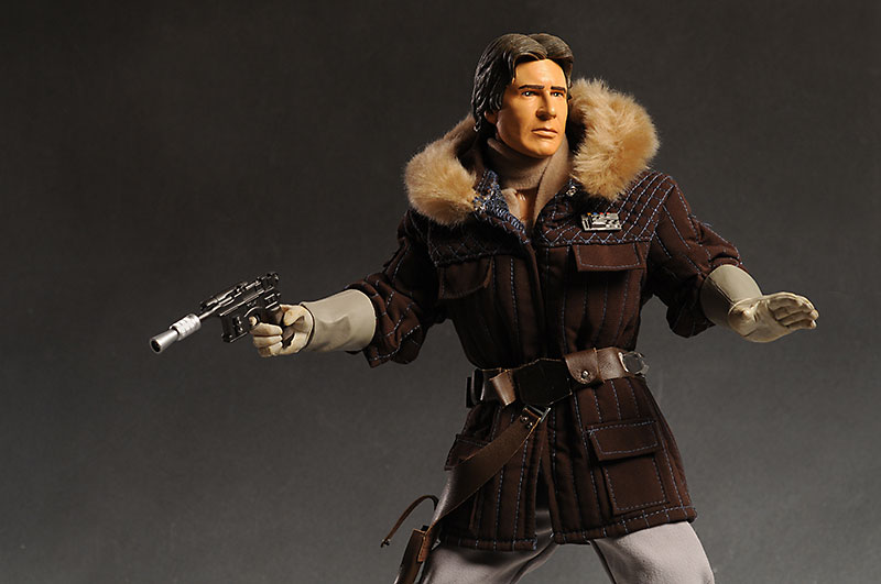 Diamond Select Ultimate Quarter Scale Han Solo Hoth action figure