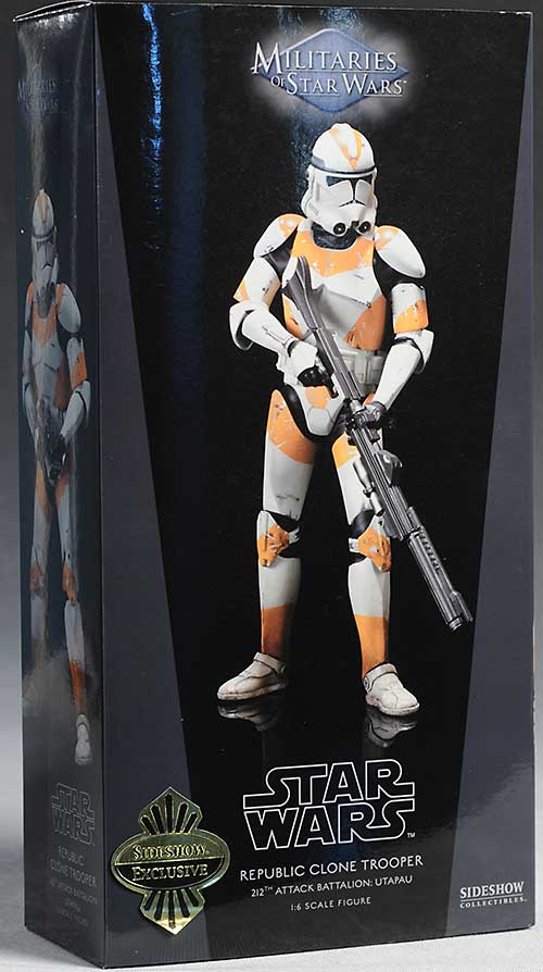 Star Wars Utapau Clone Trooper sixth scale figure by Sideshow