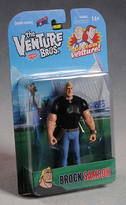 Brock Samson action figure by Bif Bang Pow