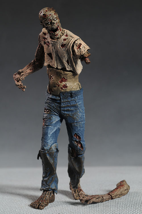 Walking Dead comic Rick, Michonne, Walkers figures by McFarlane