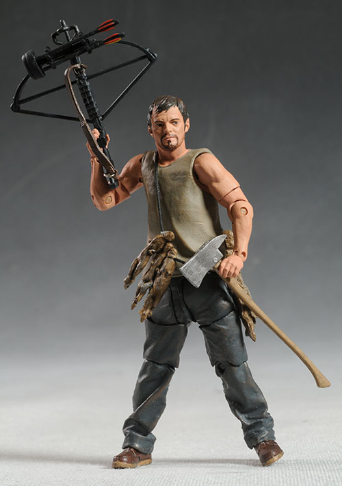 Walking Dead Rick, Daryl action figures by McFarlane