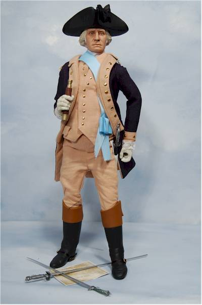 George Washington sixth scale action figure by Sideshow