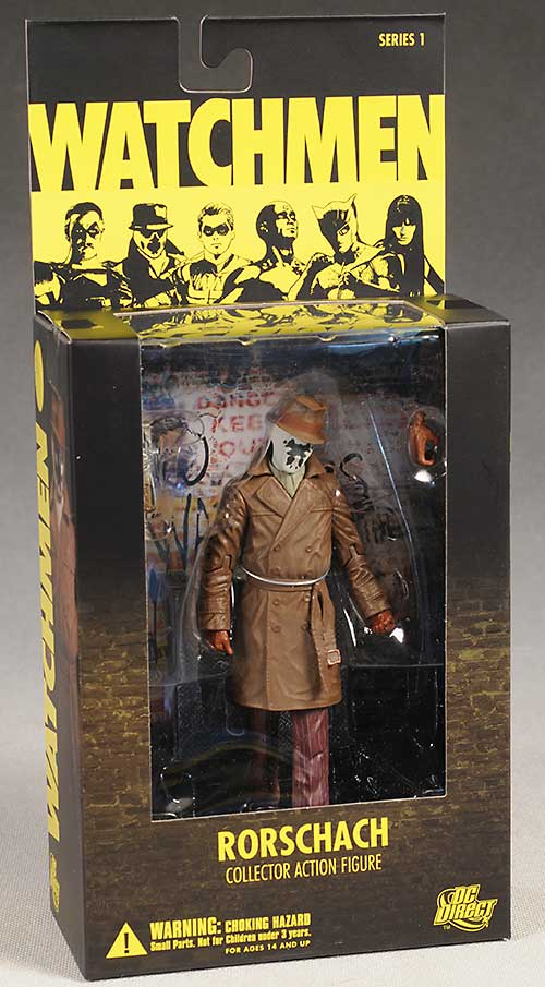 Watchmen Rorschach action figure by DC Direct