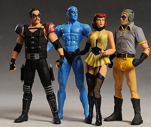 Watchmen Comedian action figure by DC Direct