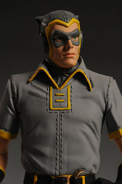 Watchmen Comedian, Silk Spectre, Dr. Manhattan, Nite Owl action figures by DC Direct