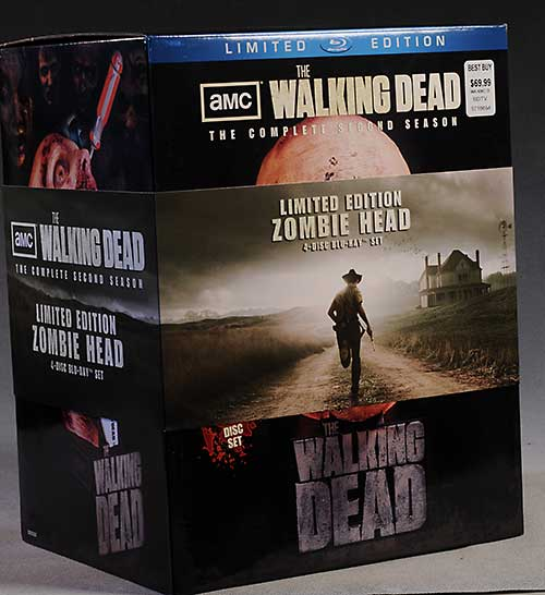 Walking Dead Season 2 zombie head case by Mcfarlane