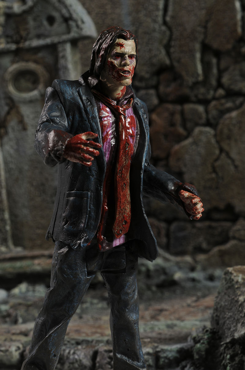 Walking Dead zombie walker action figures by McFarlane