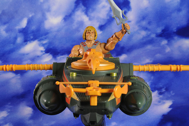 MOTUC Wind Raider action figure vehicle by Mattel