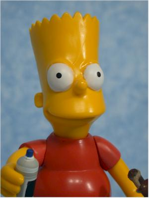 World of Springfield Simpsons Bart Wave 1 action figure by Playmates