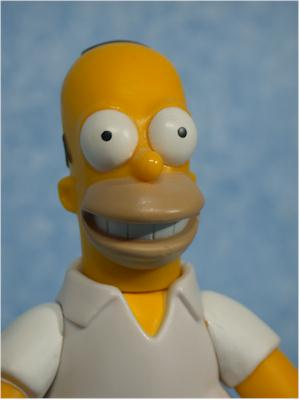 World of Springfield Simpsons Homer Wave 1 action figure by Playmates
