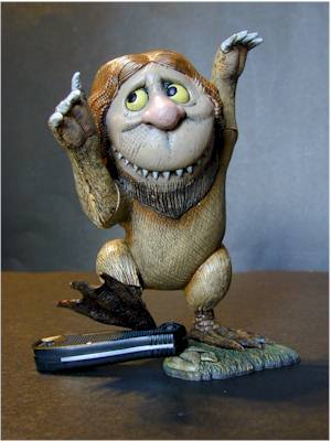 Where the Wild Things Are action figures by McFarlane