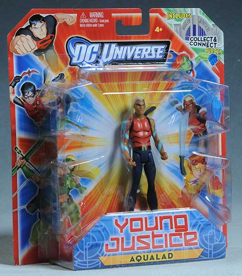 Young Justice action figures by Mattel