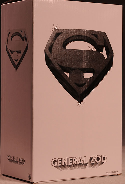Superman Zod sixth scale action figure by Mattel