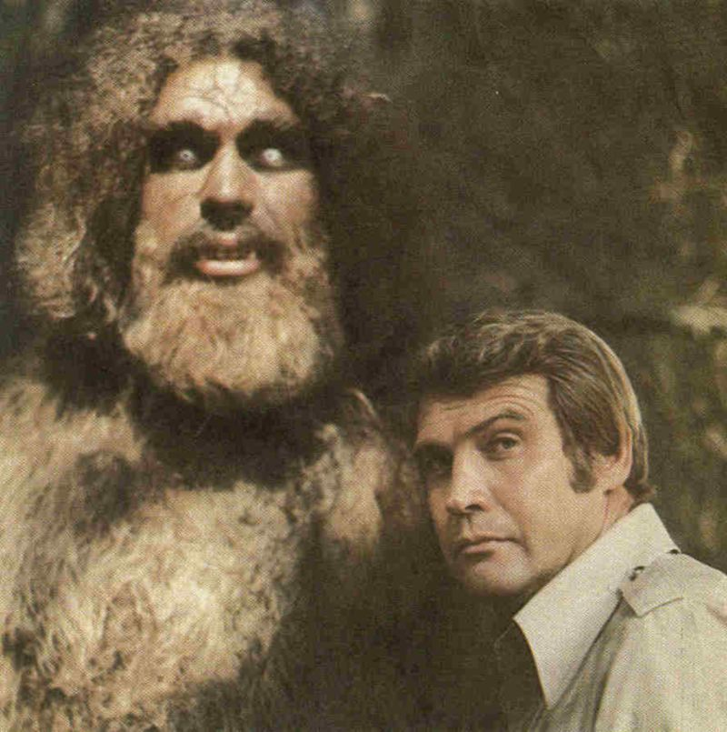 Six Million Dollar Man and Bigfoot