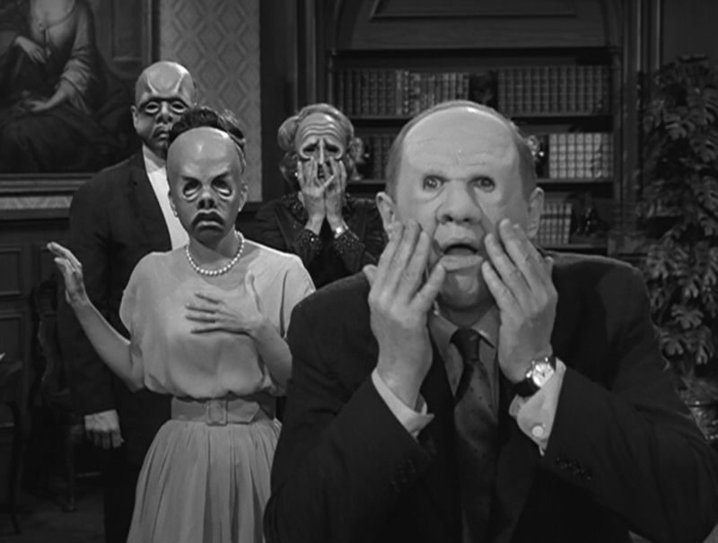 Twilight Zone The Masks