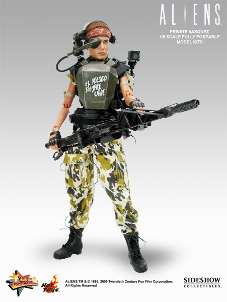 Hot Toys Aliens Vasquez sixth scale action figure Qmx