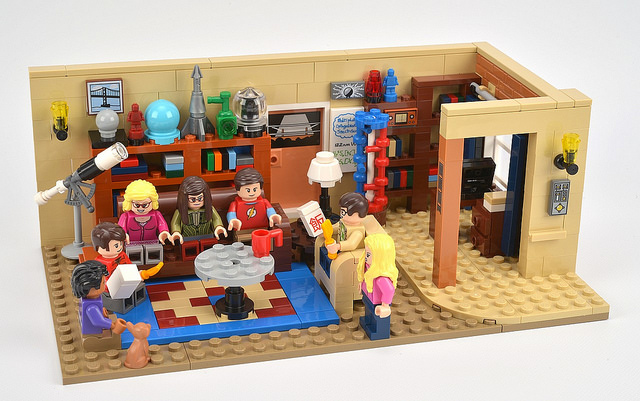 Big Bang Theory building set by Lego
