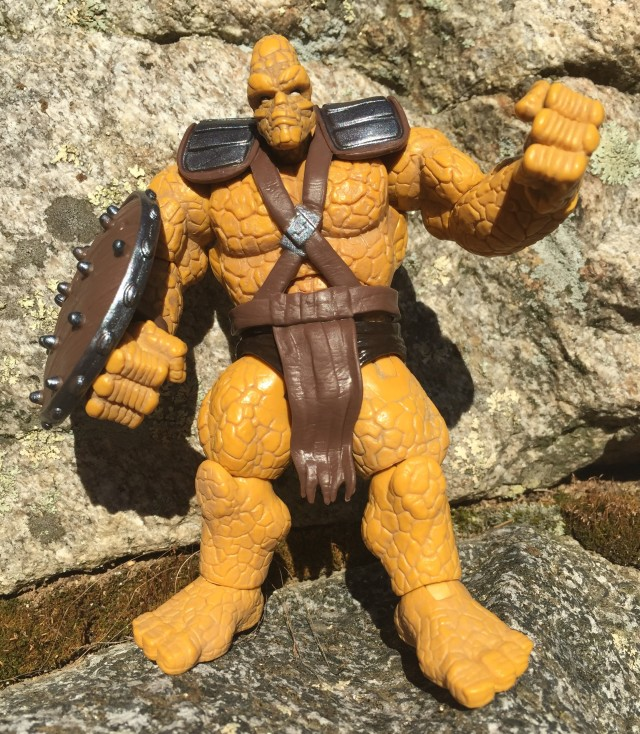 Korg Marvel Infinite action figure by Hasbro