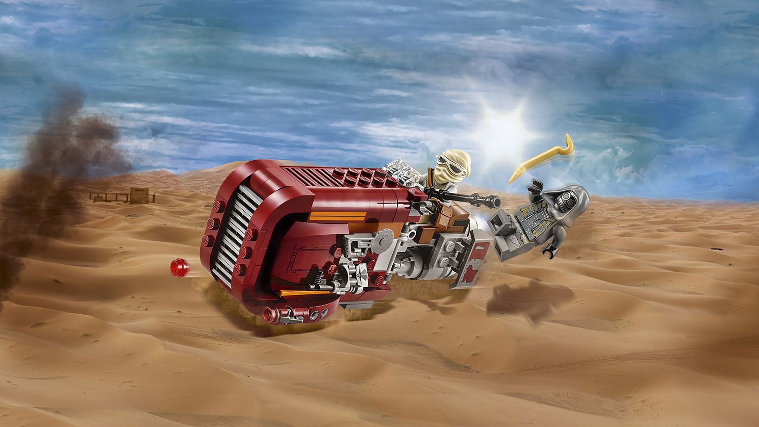 Star Wars Rey Speeder building set by Lego
