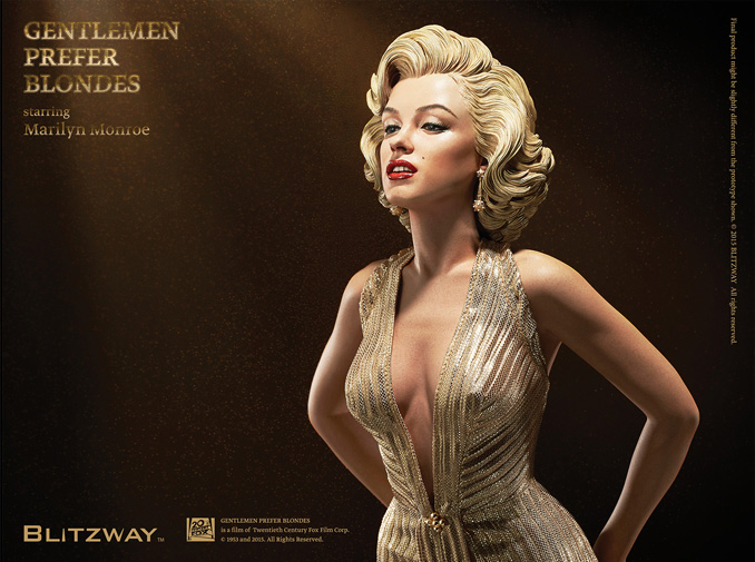 Marylin Monroe statue by Blitzway