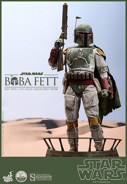 Star Wars Boba Fett 1/4 scale figure by Hot Toys