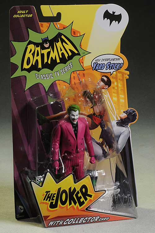 Joker 1966 Classic Batman action figure by Mattel