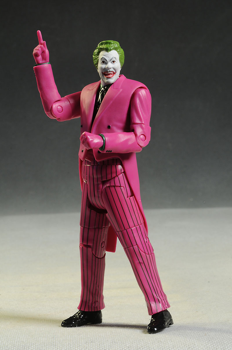 Joker 1966 Batman Television show action figure by Mattel