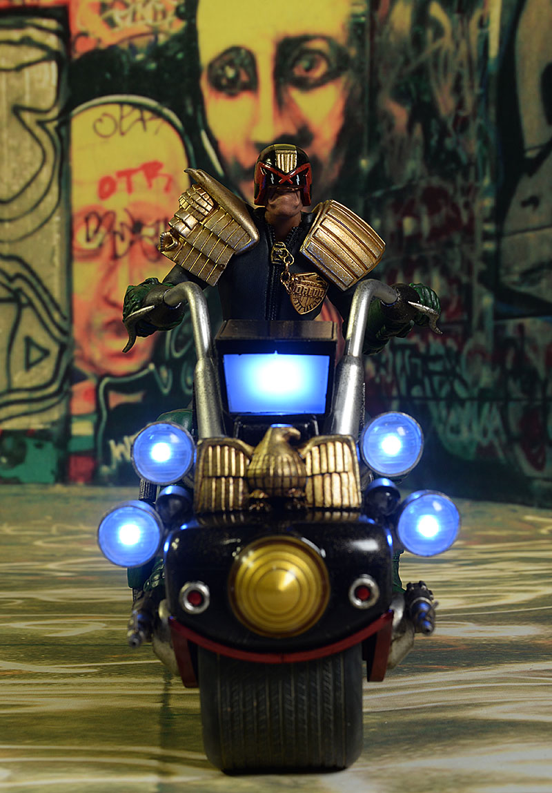 Judge Dredd's Lawmaster action figure vehicle by 3A
