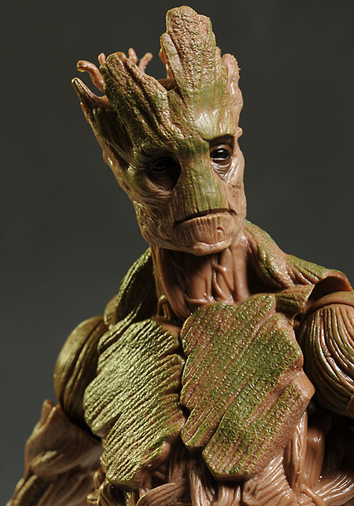 Groot Marvel Legends BAF action figure by Hasbro