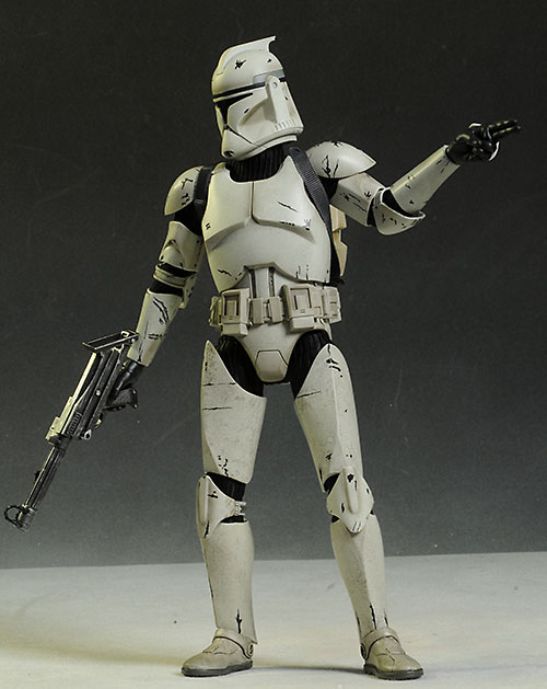 Clone Trooper deluxe Star Wars sixth scale action figure by Sideshow Collectibles