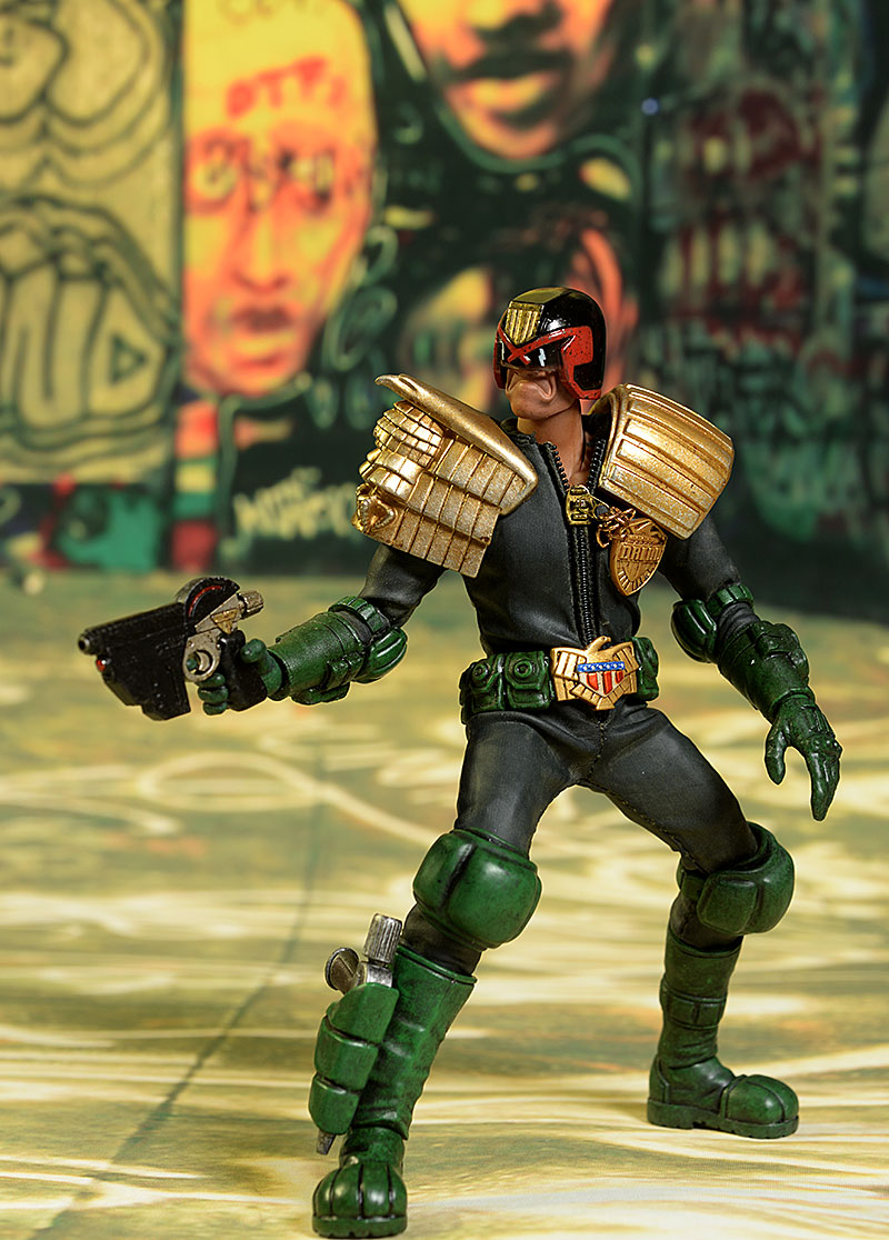 Judge Dredd 2000 AD 1/12 action figure by 3A