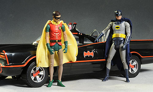 1966 Batmobile Batman television show by Mattel