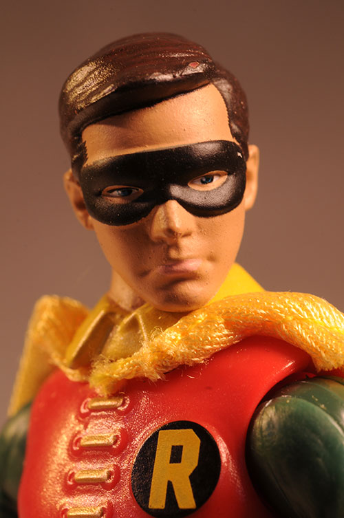 1966 Batman and Robin action figures by Mattel
