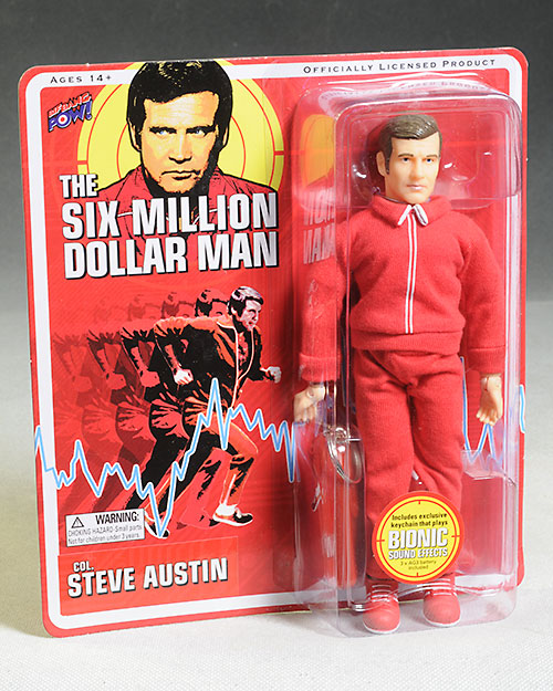 Six Million Dollar Man & Bigfoot action figures by BifBangPow