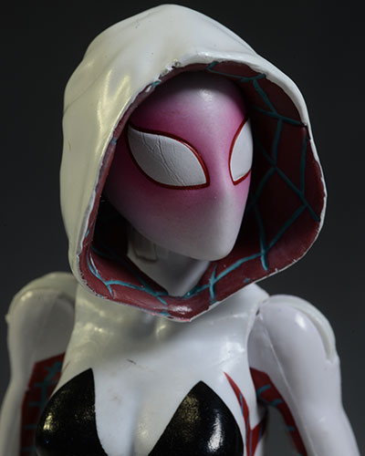 Spider-Gwen Marvel Legends action figure by Hasbro