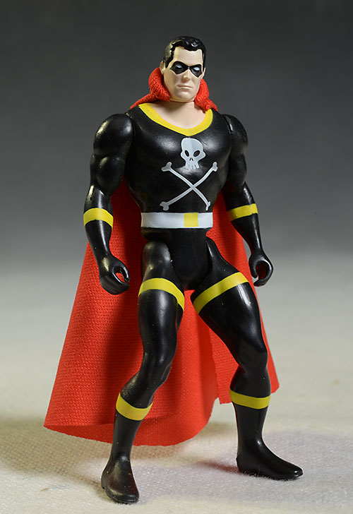 Amazing Heroes Black Terror action figure by Fresh Monkey Fiction