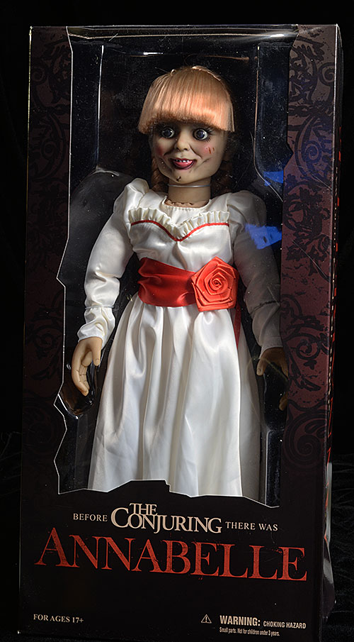 Annabelle scaled prop replica doll by Mezco