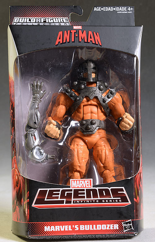 Marvel Legends Bulldozer, Grim Reaper, Giant Man action figures by Hasbro