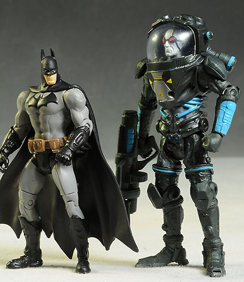 DC Multi-verse Batman, Mr. Freeze action figures by Mattel