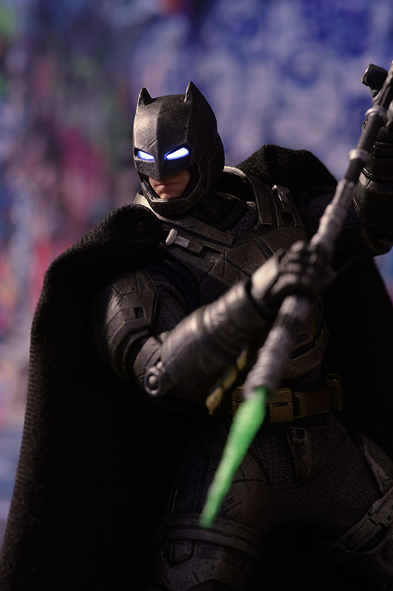 Armored Batman One:12 Collective action figure by Mezco