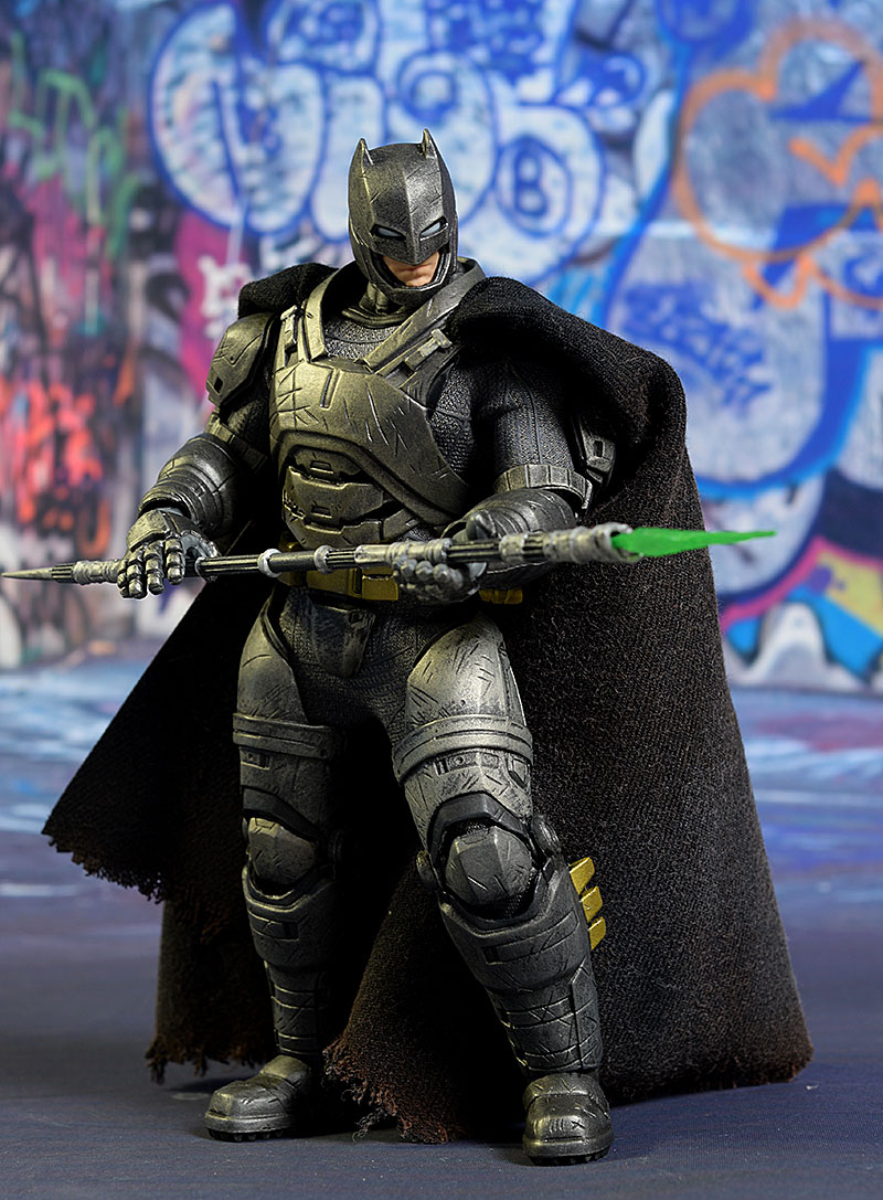 Armored Batman One:12 Collecive action figure by Mezco