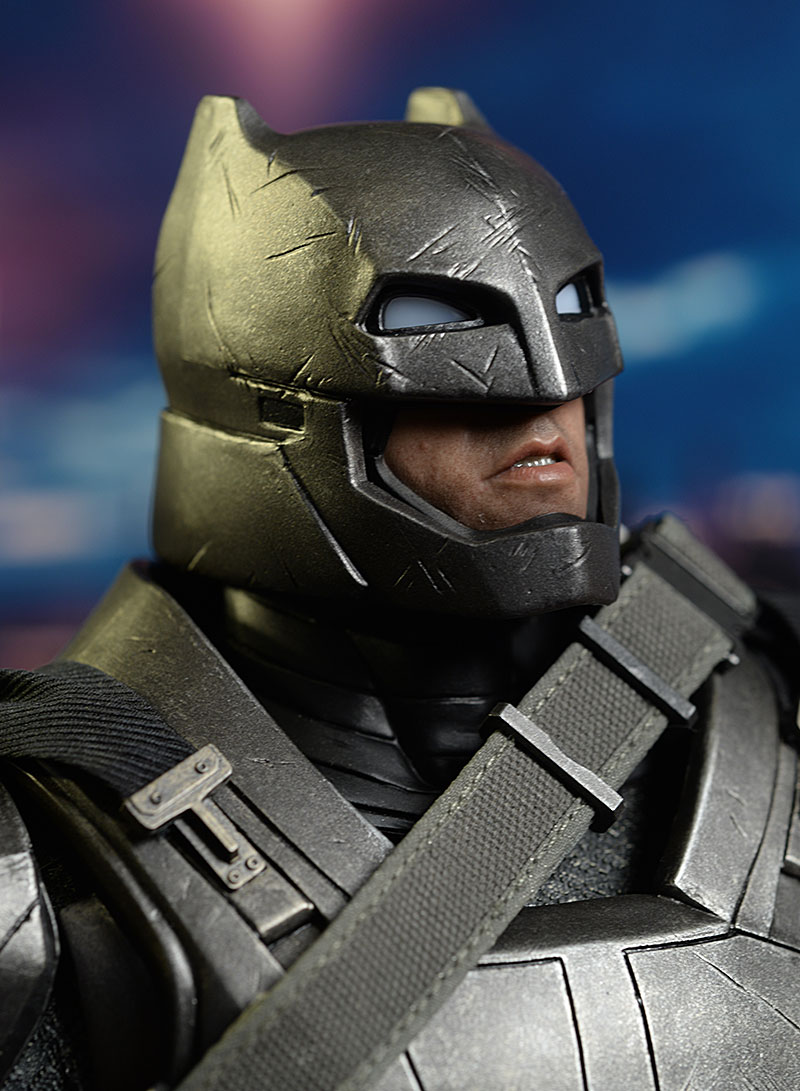 Armored Batman sixth scale action figure by Hot Toys